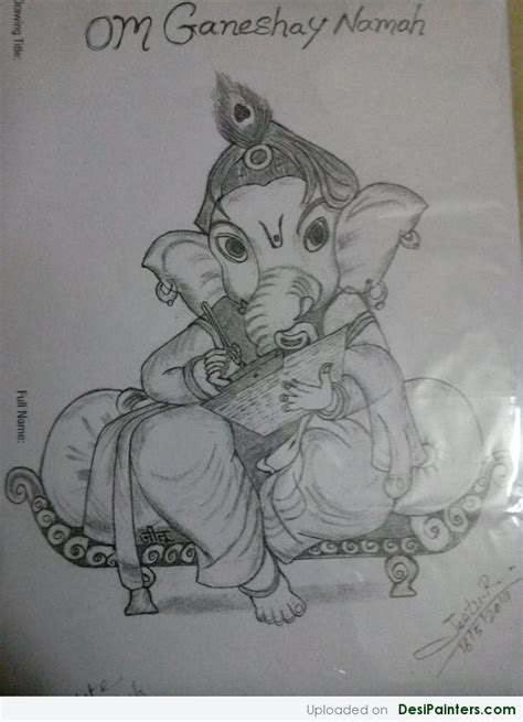 Ganesh Ji Sketches by Pin Ganesh Ji Sketch On