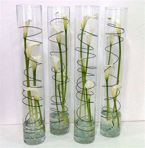 Cylinder Vase Arrangements by Best 25 Cylinder Vase Ideas On
