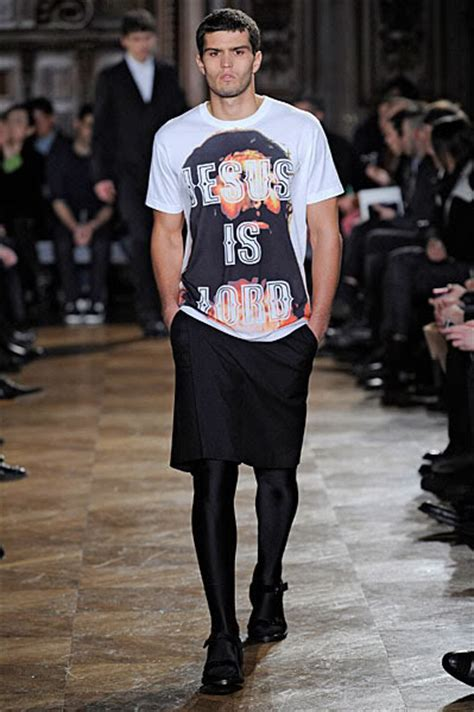 Givenchy Jesus Is Lord z in miami wearing givenchy print t shirt upscalehype