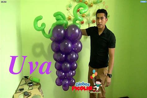 imagenes de uvas en globos racimo de uvas con globos para primera comuni 243 n f 225 cil y