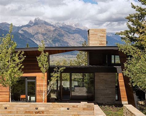 Outdoor Furniture : Irresistible Wooden House With Scenic