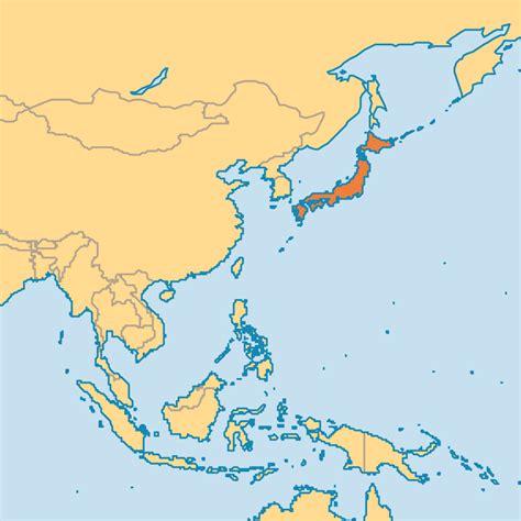 japan on the world map japan operation world
