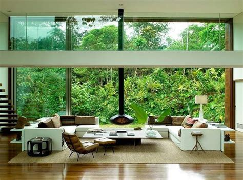 garden living room beautiful tropical house by architect arthur casas