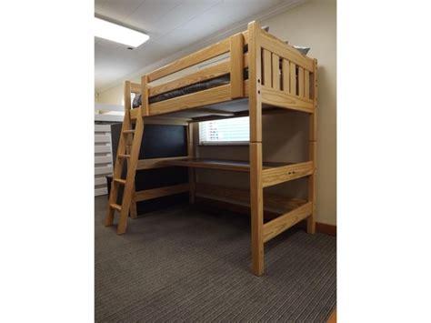 loft style bunk beds l270 twin loft bed windsor the style loft factory
