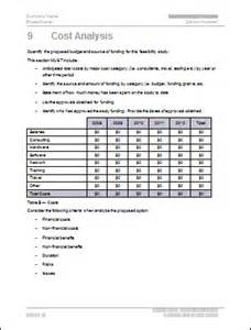Technical Feasibility Report Template by Feasibility Study Template Technical Writing Tips