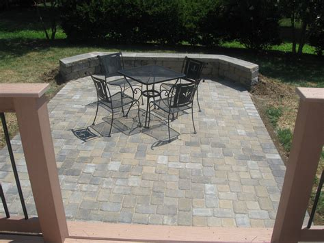 Patio Designs Using Pavers Deck And Patio Together In We Do It All The Time Archadeck Of