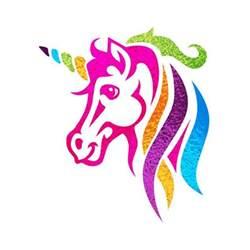 unicorn rainbow it s all unicorns and rainbows the full plate