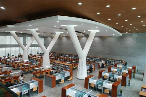 library reading room chongqing library perkins eastman chongqing