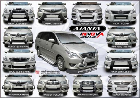 All New Innova Roof Rail Activo Color By Request car accessories innova india 2017 2018 best cars reviews