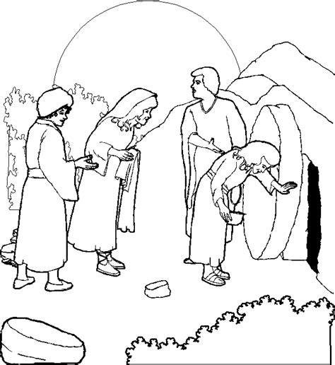 jesus has risen coloring pages coloring home