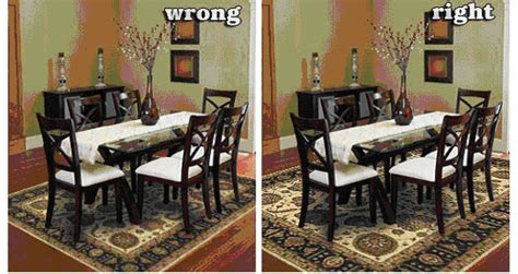 Area Rug For Dining Room Table Dining Area Rug Size 187 Gallery Dining