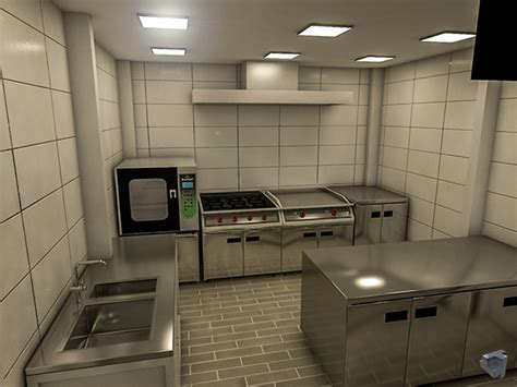 fast food kitchen design fast food restaurant 3d layout on scad portfolios