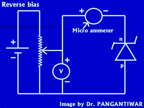 pn junction diode experiment connections using breadboard study of zener diode characteristics