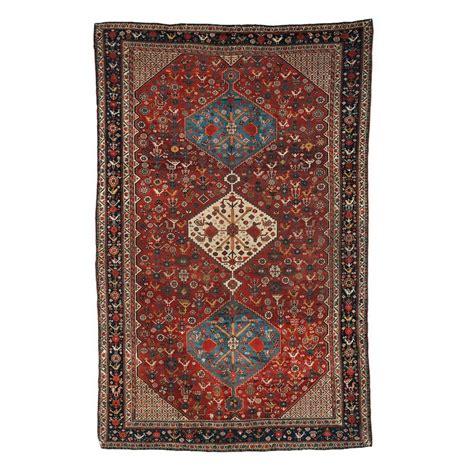 persischer teppich antiker handgekn 252 pfter persischer khamseh teppich 1870er