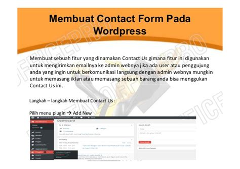 membuat form wordpress 2014 15 membuat website dengan wordpress