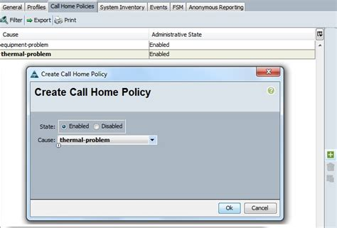 call home policy 2 unixarena