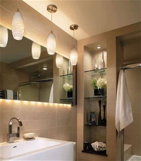 contemporary bathroom pedant lighting ideas for small modern bathroom design clever lighting design small