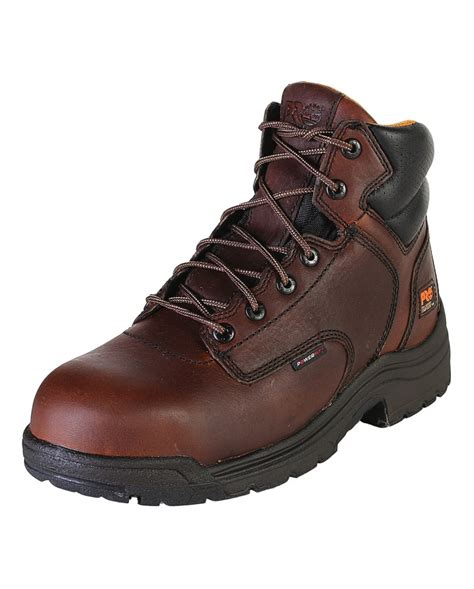 timberland pro 174 s 6 quot titan 174 composite toe boots fort