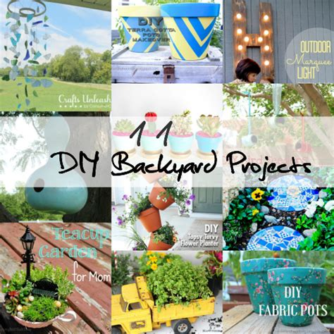 backyard science experiments list diy backyard projects to add personality family focus blog