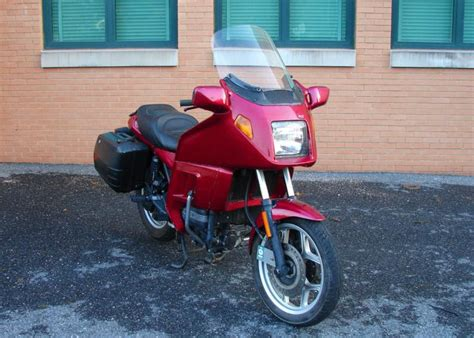 1994 bmw k75 for sale buy 1994 bmw k75 rt touring bike abs fairing bags 48k on