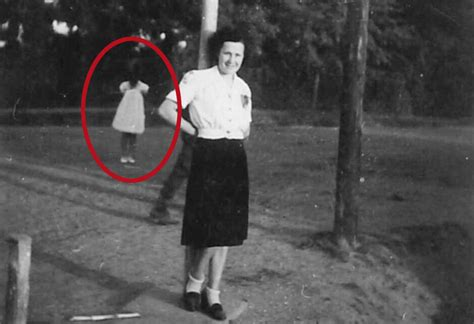 the appartion girl with no face woman discovers spine chilling