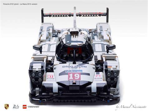 porsche 919 lego amazing fan built lego technic porsche 919 the 2015 le