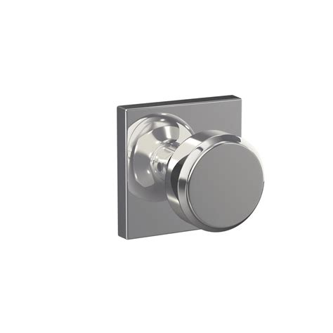 home depot interior door knobs schlage custom bowery bright chrome collins trim combined