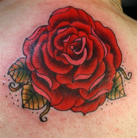 traditional tattoo roses roses on hip tattoos gray and