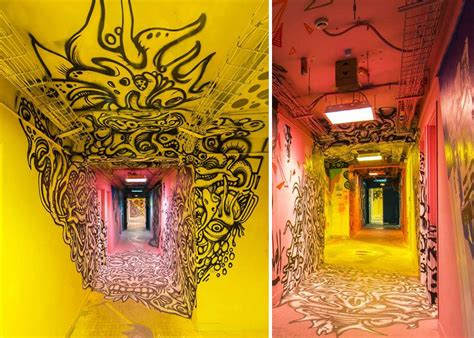 Painting U by School Asks 100 Graffiti Artists To Paint It Before
