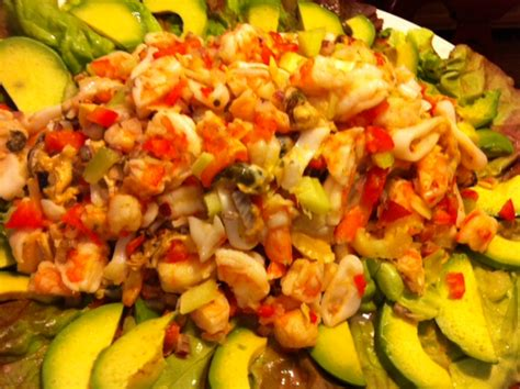 new year seafood recipes recipe new year s seafood salad k fitness