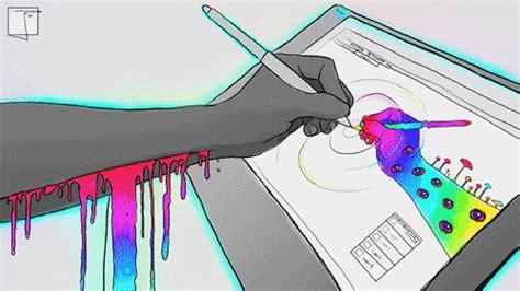 hipster art gif tumblr digital art artists on tumblr gif by phazed find share
