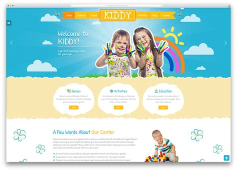 website templates for children s books best website builders for kids how to make a website for