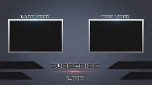 Outro Template by Speed Photoshop Free Outro Template