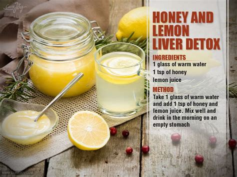 How To Make Lemon Detox Tea by 17 Best Ideas About Liver Cleanse On Liver