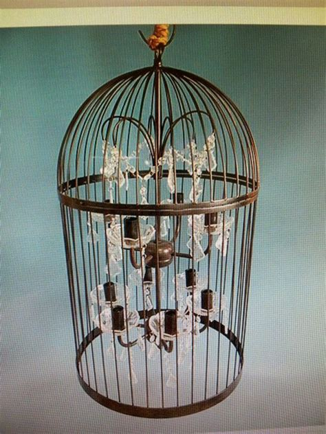How To Make A Birdcage Chandelier Birdcage Chandelier Great Ideas