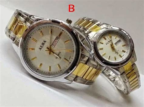 Harga Dan Gambar Jam Tangan Merk Alba foto gambar terbaru jam tangan alba pasangan murah