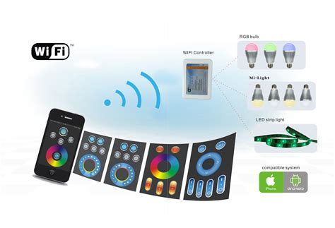 Wifi Led Controller Wifi Led Module For Mobile Phones 2 4 Ghz