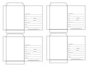 blank seed packet template index of seed packet templates d g gardens and crafts