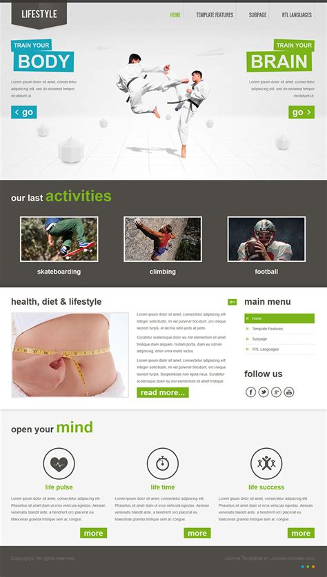 templates en joomla 3 0 jm lifestyle free joomla 3 0 template by joomlamonster on