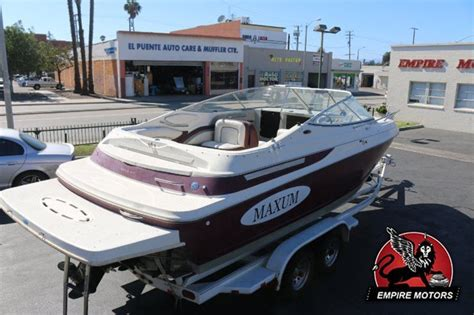 maxum boats europe maxum 2300 sc 1996 for sale for 1 boats from usa