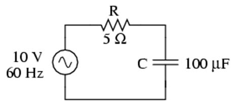 a resistor and a capacitor in a series ac circuit series resistor capacitor circuits reactance and impedance capacitive
