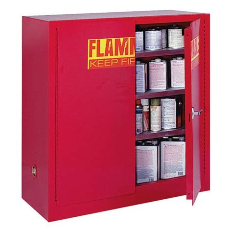 Paint Storage Cabinets Sandusky Paint Ink Storage Cabinet Counter Height Pc40 Hazmat Safety Storage Cabinets