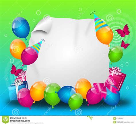 imagenes alegres de feliz cumpleaños fondo alegre de la fiesta de cumplea 241 os stock de