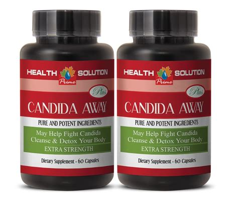 Takusumi Supreme With Detox For Candida by Candida Away 1275mg Fight Candida Cleanse Detox Your