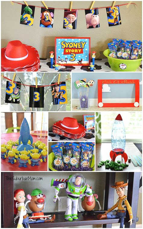 toy story themes party toy story birthday party ideas