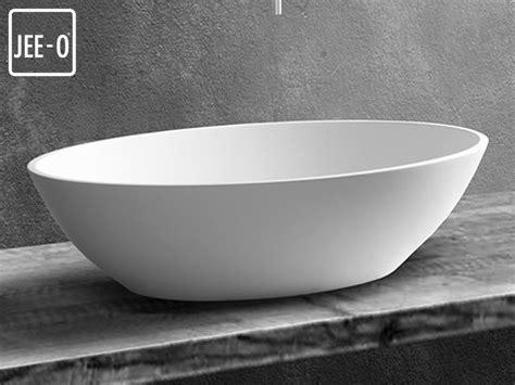 waschbecken oval aufsatz aufsatz waschbecken quartz mineralguss waschebecken