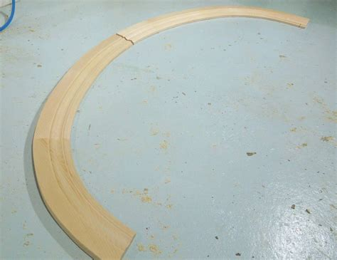 curved wood trim molding making curved molding