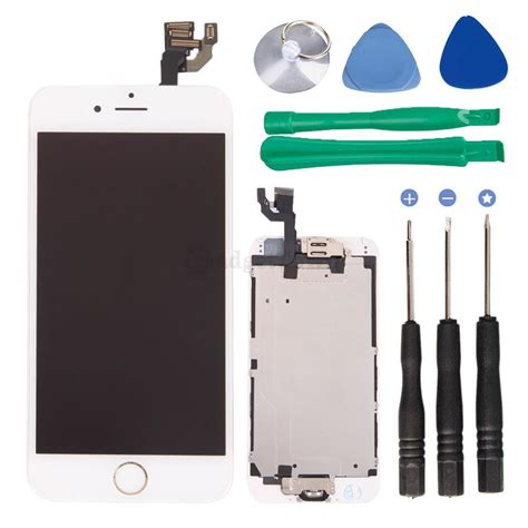 Touchscreen Apple 4 Flexibel Home Button Ori lcd display lens touch screen digitizer replace assembly part for iphone 6 4 7 quot ebay