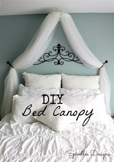 bedroom canopy diy 19 ingenious diy ideas for renters or students that will