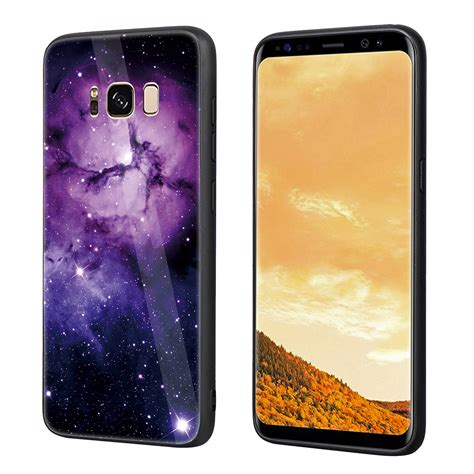 Tempered Glass Indoscreen Samsung S8 Cover Set for samsung s8 s8 plus tempered glass back cover tpu